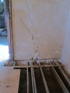 CRACKS, FLOOR
