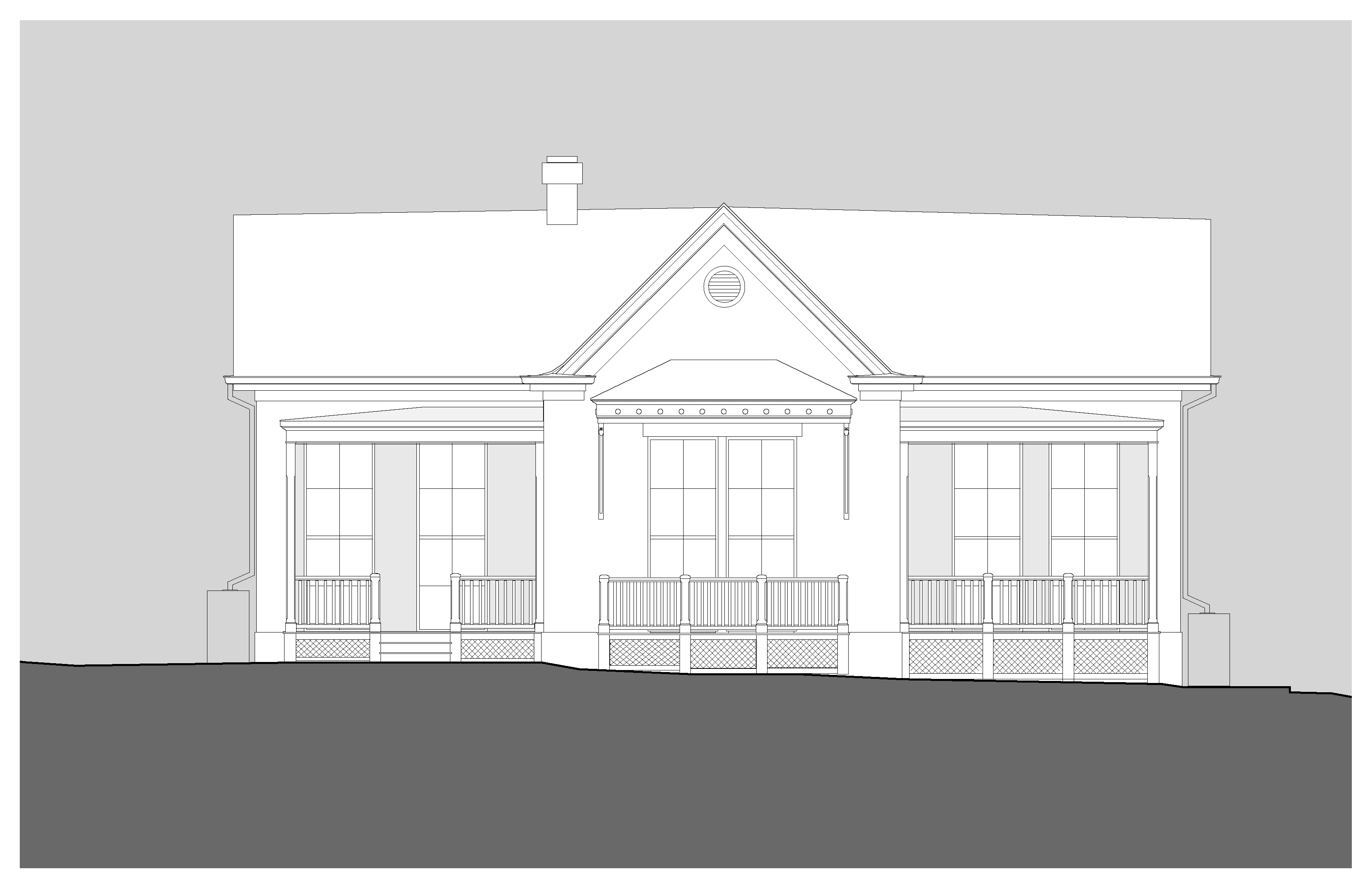 Neo Eclectic House Plans House Plans