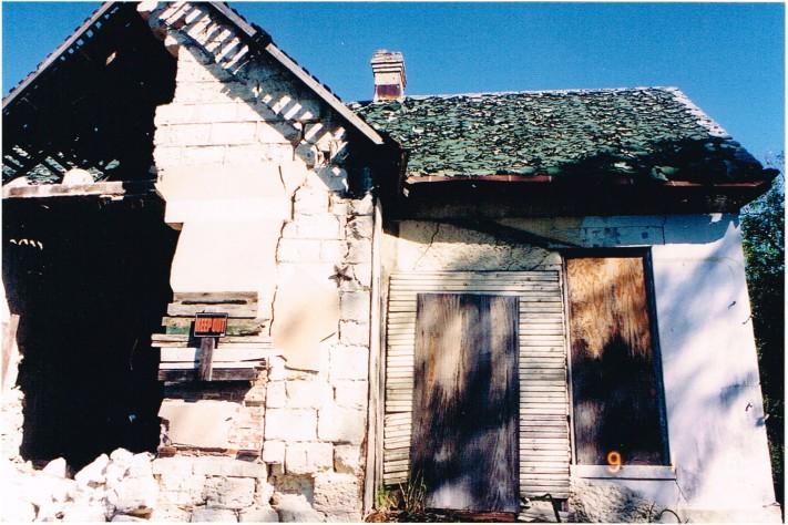 1990s rear house